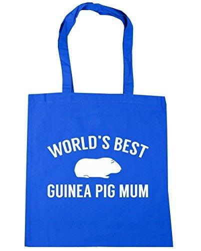 pig Tote 42cm Gym litres Bag mum Beach World's Cornflower Blue 10 HippoWarehouse best guinea x38cm Shopping 4Xvtfaq