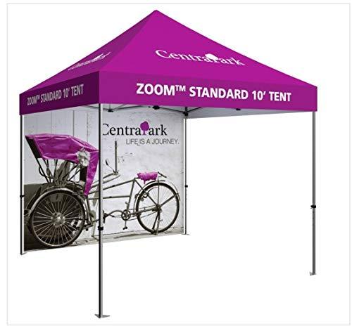 Orbus ZM-TNT-3MX3M-FLL-WLL-BLU Zoom Economy & Standard 10 Popup Tent Full Wall - Blue from Orbus Inc.