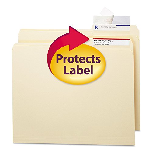 SMD67600 - Smead Seal amp;amp; View File Folder Label Protector