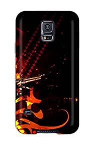 Protection Case For Galaxy S5 / Case Cover For Galaxy(black Lagoon)