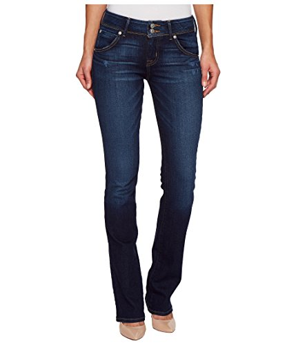 Hudson Jeans Women's Collin Midrise Skinny Flap Pocket Jean, Corrupt, 24 - Flap Pocket Capri