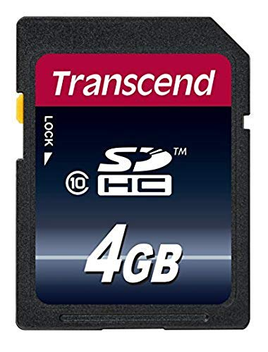 Transcend 4GB Class 10 SDHC Card (TS4GSDHC10)