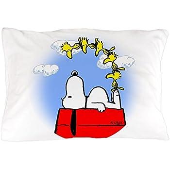 Amazon.com: DoubleUSA Snoopy Pattern Pillowcases Two Sides