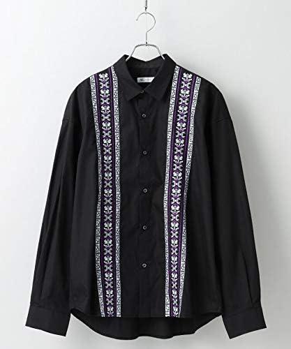 [ ティーケー タケオキクチ ] カジュアルシャツ エスニックシシュウ ビッグシルエットシャツ 17088116 メンズ