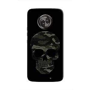 Cover It Up - Camo Skull Moto X4 Hard Case