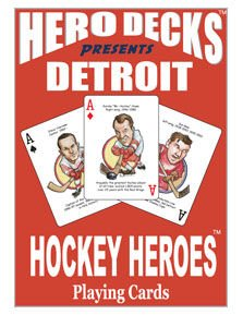 Detroit Hockey Heroes Playing Cards - Heroes Playing Cards