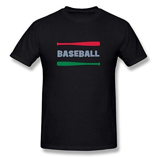 Men Baseball Tshirts,Black T-shirts By HGiorgis XXL Black