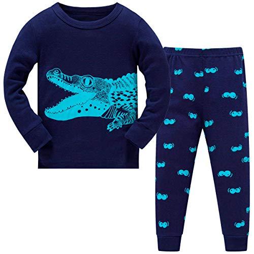 Schmoopy Boys Pajamas Long Sleeve Crocodile Pjs Set Size 6 (Next Childrens Bed Sets)