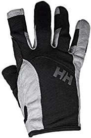 Helly Hansen Unisex-Adult Sailing Durable Long Finger Leather Gloves
