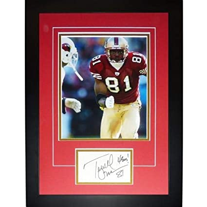 promo code 43067 2d420 Terrell Owens Autographed Signed Auto San Francisco 49ers ...