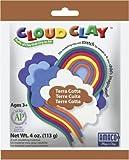 AMACO Cloud Clay, 4-Ounce/Pkg, Terra Cotta