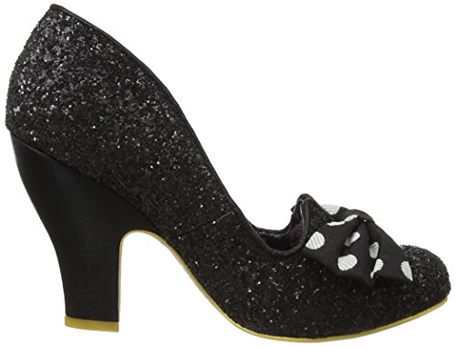 Irregular Choice Nick Of Time - Tacones Mujer Black (Black New)