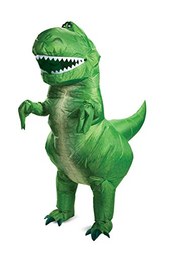 Toy Story Rex Inflatable Adult Costume Standard -