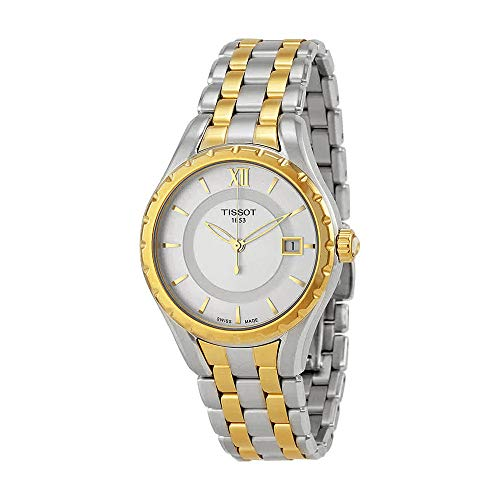 Tissot Women's TIST0722102203800 T-Lady Analog Display Swiss Quartz Two Tone Watch (Tissot Swiss)