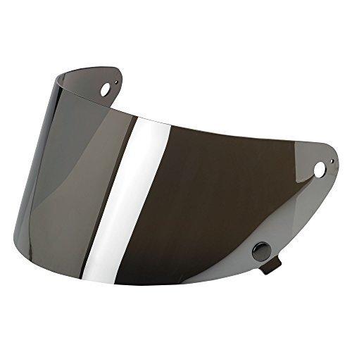 Biltwell Gringo S Helmet Flat Shield (Chrome Mirror, One Size) Color: Chrome (Auto Chr)