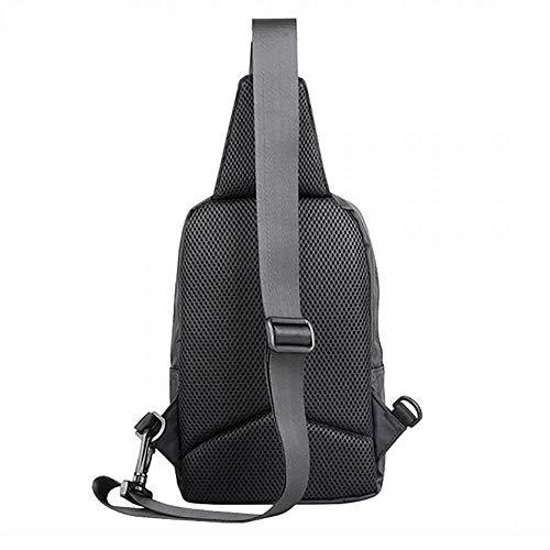de Deporte Crossbody Clásico Bolsa con oficina bolsa Lona USB interfaz Bolsa Viaje hombro hombro maletín trabajo Bandolera bolsas para Business Hombre Bolsa Hombre Uni Headset TWqSw5vA6Z