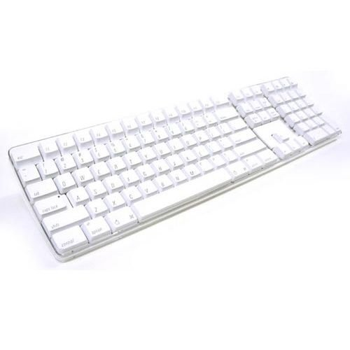 Apple USB Keyboard - White (Certified Refurbished) (Keys Powerbook Keyboard)