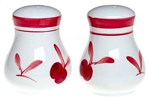 Dansk Bing Earthenware Salt and Pepper Shakers