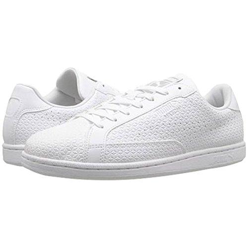 PUMA Men's Match Emboss White Sneaker 11 D (M)