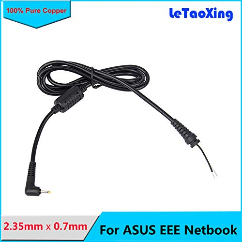 Davitu 1.2m DC 2.35 x 0.7 2.350.7mm Power Supply Plug Connector With Cord Cable 2.35mm 0.7mm For ASUS EEE PC Netbook Adapter