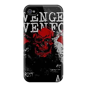 Great Cell-phone Hard Cover For Iphone 4/4s With Support Your Personal Customized Nice Avenged Sevenfold Image CristinaKlengenberg