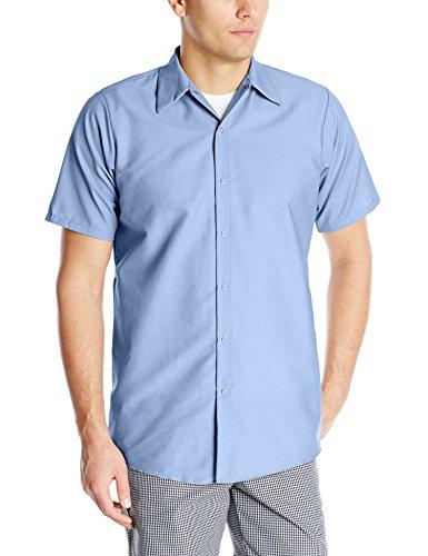 Red Kap Men 39 S Specialized Pocketless Work Shirt Light