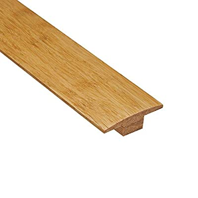 Home Legend Strand Woven Natural 7/16 in. Thick x 2 in. Wide x 47 in. Length Bamboo T-Moulding