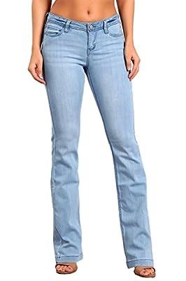 Celebrity Pink Women's Mid Rise Kickboot Jeans CJ21007H18