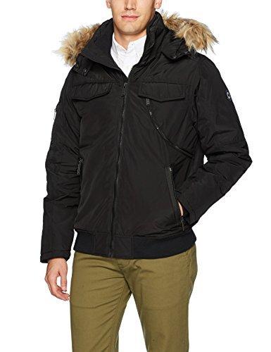 Ben Sherman Mens Short Parka Jacket