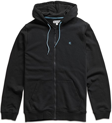 Sweatshirt Mens Etnies (Etnies Mens E-Cord Hoody Zip Sweatshirt/Sweater Medium Black)