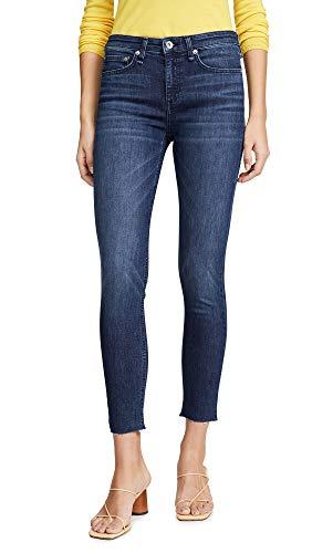 (Rag & Bone/JEAN Women's Ankle Skinny Jeans, Wilton, Blue, 26)