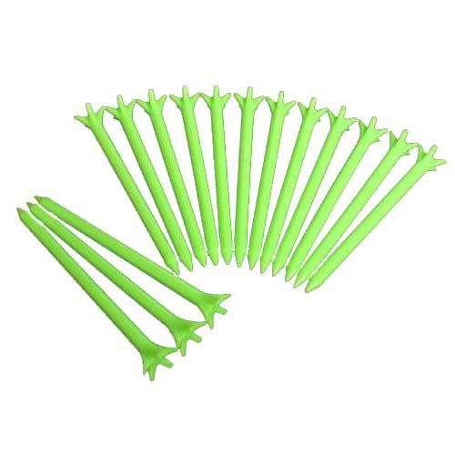 100Pcs 70Mm Golf No Friction 5 Prong Tees 2 3/4'' Gzft Golf Tees Plastic Tee(Green) by Amants01