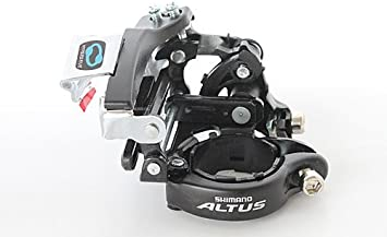34.9mm Clamp Dual Pull NEW Shimano Altus FD-M311 Front Derailleur 3 x 7//8 Speed