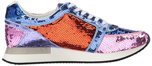 Katy Perry Womens The Lena Sneaker Blue Combo