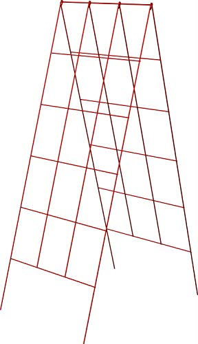 Panacea A-Frame Plant Supports, Red, 48'', Pack of 10 by Panacea Products