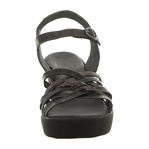 Think Mujeres Sandalias negro, (schwarz) 0-80535-09 schwarz