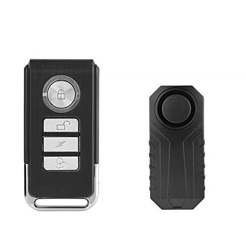Delaman Fiets alarmslot draadloos anti-diefstal afstandsbediening alarminstallatie alarm, fiets alarm veiligheidsslot…