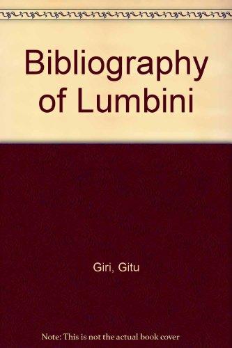 Bibliography of Lumbini