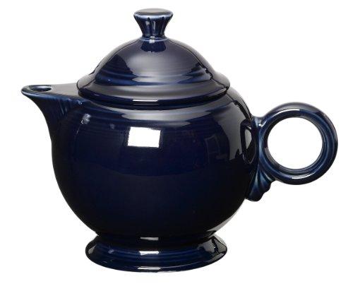 Fiesta 44-ounce Covered Teapot, Cobalt (Teapot Cobalt)
