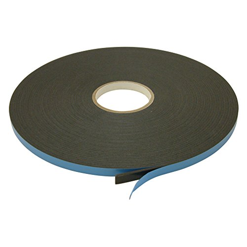 - J.V. Converting DC-WGT-01/BLK0525013 JVCC DC-WGT-01 Double Coated Window Glazing Tape: 1/8