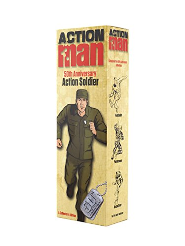 Action Man AM712 '50th Anniversary Soldier' Figure