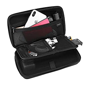 ProCase Hard Travel Tech Organizer Case Bag for Electronics Accessories Charger Cord Portable External Hard Drive USB…