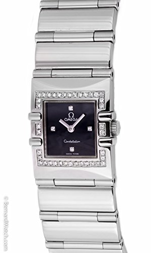 Omega Women's 1528.76.00 Constellation Quadra Quartz Diamond Watch