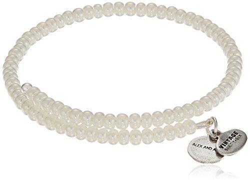 Alex and Ani Womens Primal Spirit Wrap Wrap Bracelet, Birch, Expandable