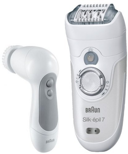 Best Epilator For Face Cleansing - Braun Silk-epil 7 7569 Epilator