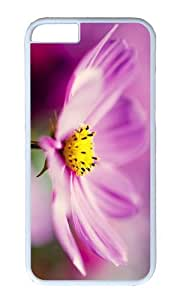 MOKSHOP Adorable cosmos flower Hard Case Protective Shell Cell Phone Cover For Apple Iphone 6 (4.7 Inch) - PC White
