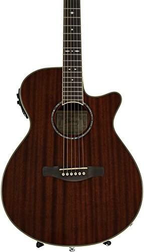 Ibanez AEG12IINT Acoustic-Electric Guitar, Natural - Guitar Electric Ibanez Acoustic