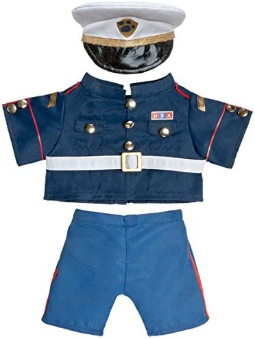 """Marines Outfit Teddy Bear Clothes Fits Most 14/""""-18/"""" Build-A-Bear and Make Your O"""