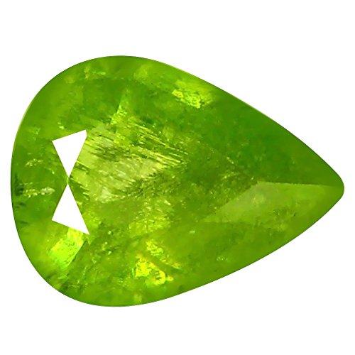 Deluxe Gems 1.16 ct Pear (8 x 6 mm) Pakistan Un-Heated Pakistan Sphene Natural Loose ()