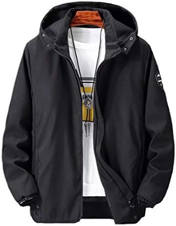 ジャケット メンズ ジャンパー ブルゾン 男性 フード 迷彩 トラック 防風 3XL~10XL 春秋 大きいサイズ カモフラ 運動着 lyx-1901mc